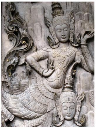 Oriental Mermaid Goddess