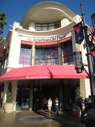 American Girl Place in the Grove at Farmers Market in Los Angeles, California by Minnaert
