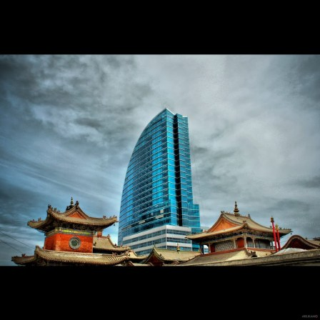 Blue Sky Tower - Ulaan Baatar, Mongolia Picture by Ariukaa