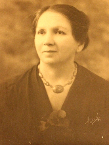 My Great-Grandmother, Jessie, at around age 56, in 1938, the year before my father was born