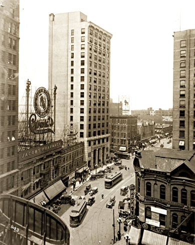 Peachtree Street in Atlanta, Georgia circa 1910; less than two miles from where my great-grandparents had their first store
