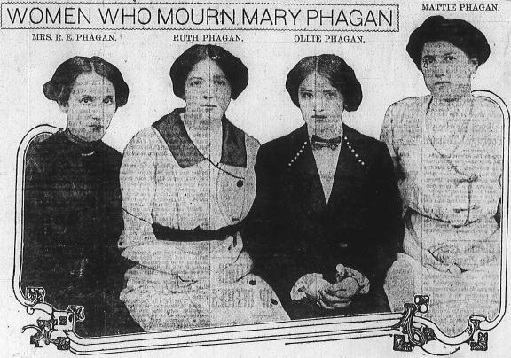 Women Who Mourn Mary Phagan