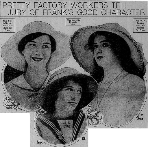 Workers Testify for Leo Frank